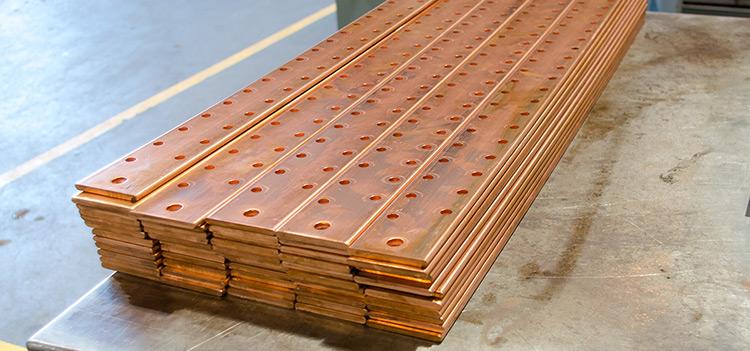 Copper Ground Bars
