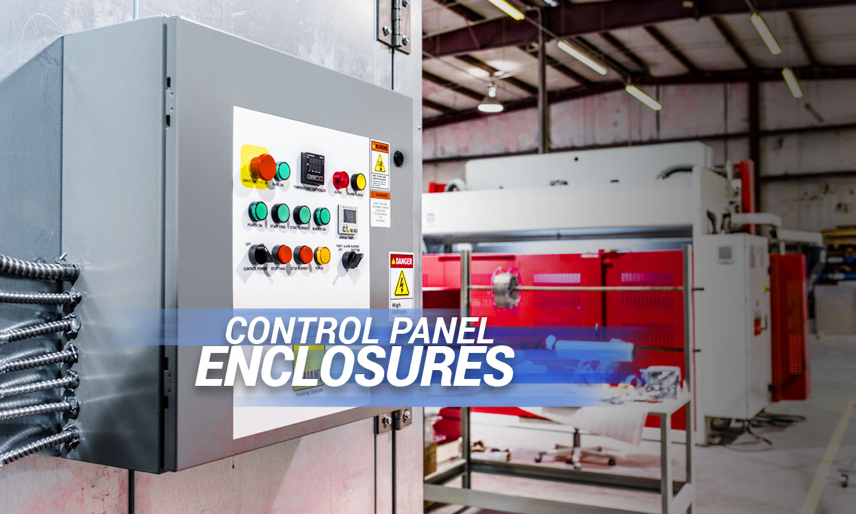 Andrews Fabrication Control Panel Enclosures